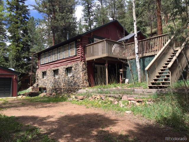 15820 S Elk Creek Road, Pine, CO 80407 (#6251308) :: Hudson Stonegate Team