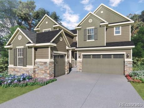 9598 Keystone Trail, Parker, CO 80134 (#6591542) :: The Griffith Home Team