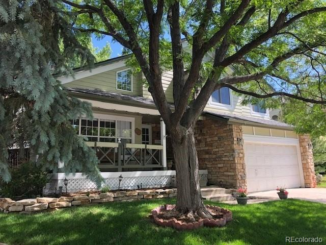 7150 Townsend Drive, Highlands Ranch, CO 80130 (#6752644) :: The HomeSmiths Team - Keller Williams