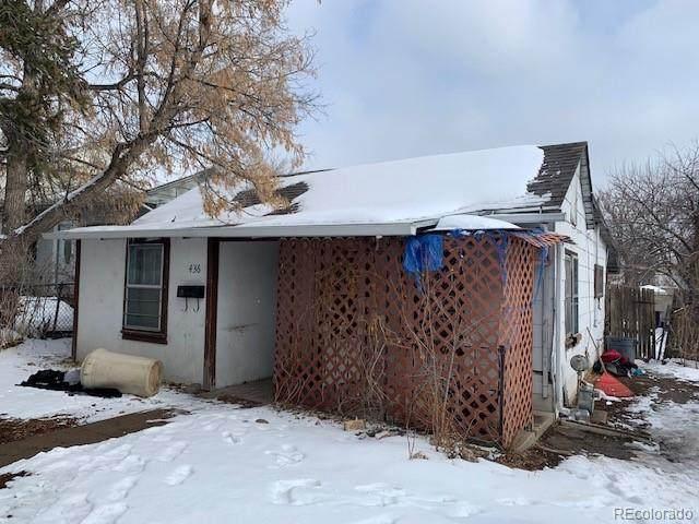 436 S Osceola Street, Denver, CO 80219 (MLS #7135365) :: 8z Real Estate