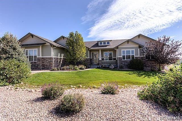 42040 Oakwood Street, Elizabeth, CO 80107 (#7410658) :: 5281 Exclusive Homes Realty