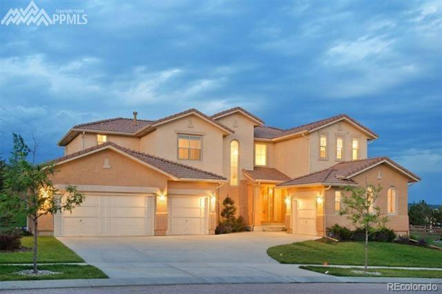 2114 Diamond Creek Drive, Colorado Springs, CO 80921 (#7566427) :: The Pete Cook Home Group