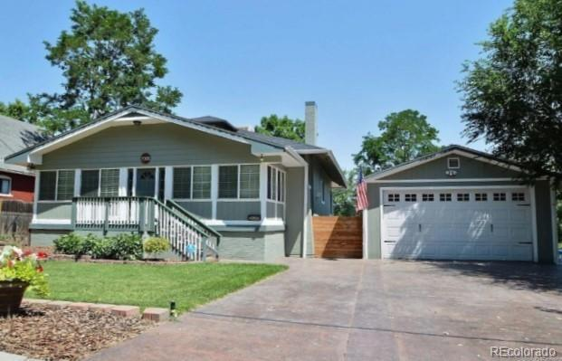 7005 W 32nd Avenue, Wheat Ridge, CO 80033 (#7669516) :: The Peak Properties Group