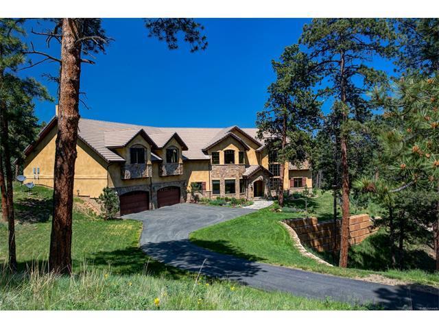 210 Bear Meadow Trail, Evergreen, CO 80439 (MLS #7818476) :: 8z Real Estate