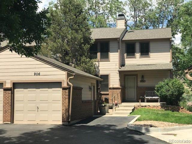 906 Homestake Drive, Golden, CO 80401 (MLS #8330780) :: 8z Real Estate