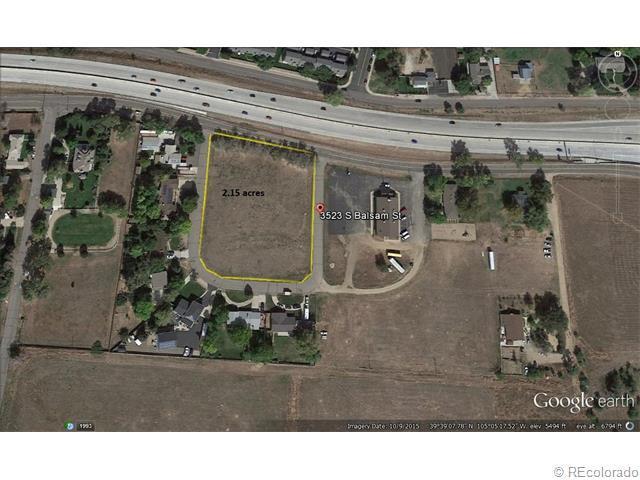 3523 S Balsam Street, Denver, CO 80235 (MLS #8544553) :: 8z Real Estate