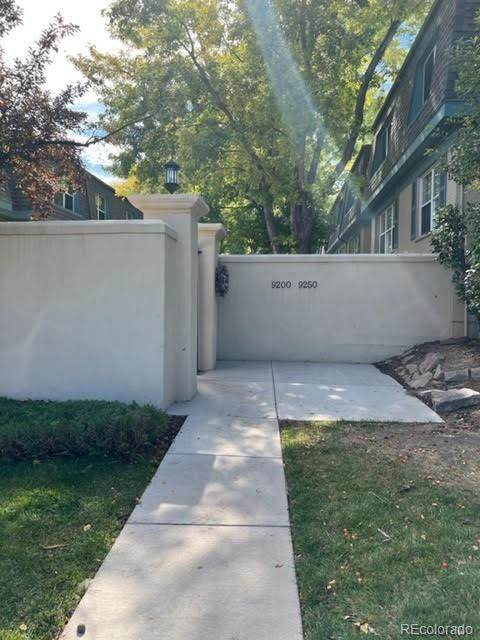 9210 E Girard Avenue #7, Denver, CO 80231 (MLS #8567134) :: Re/Max Alliance