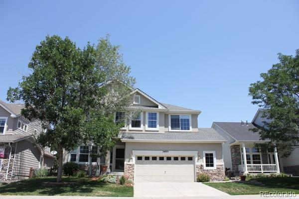 24025 E Willowbrook Avenue, Parker, CO 80138 (#8892270) :: The DeGrood Team