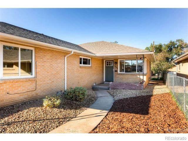 3207 N Olive Street 3207, Rear, Denver, CO 80207 (#8921640) :: Re/Max Structure
