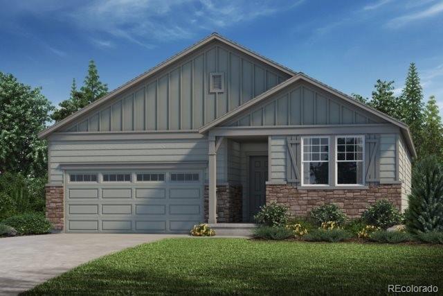 6211 Saddle Bow Avenue, Parker, CO 80134 (MLS #9462430) :: 8z Real Estate