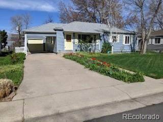 1853 S Fairfax Street, Denver, CO 80222 (#9705504) :: The Colorado Foothills Team   Berkshire Hathaway Elevated Living Real Estate