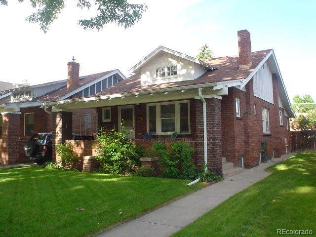 872 S Vine Street, Denver, CO 80209 (#9805261) :: Mile High Luxury Real Estate