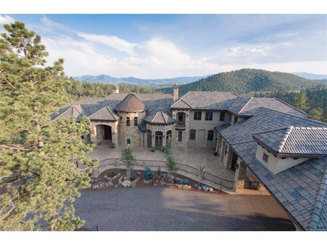 1295 Silver Rock Lane, Evergreen, CO 80439 (MLS #9988978) :: 8z Real Estate