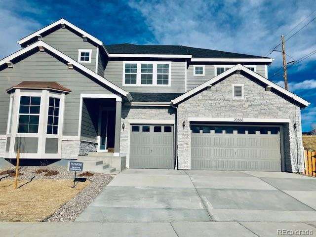 20366 Terrace View Drive, Parker, CO 80134 (#9992217) :: The HomeSmiths Team - Keller Williams