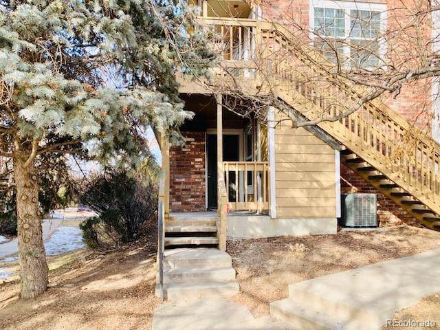 4943 S Carson Street #104, Aurora, CO 80015 (MLS #2749999) :: Bliss Realty Group