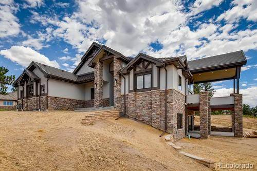 5637 Ponderosa Drive, Parker, CO 80134 (#4639227) :: The DeGrood Team