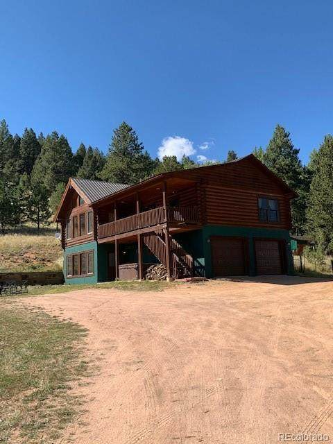 220 Rocky Mountain View, Divide, CO 80814 (#4960717) :: The HomeSmiths Team - Keller Williams