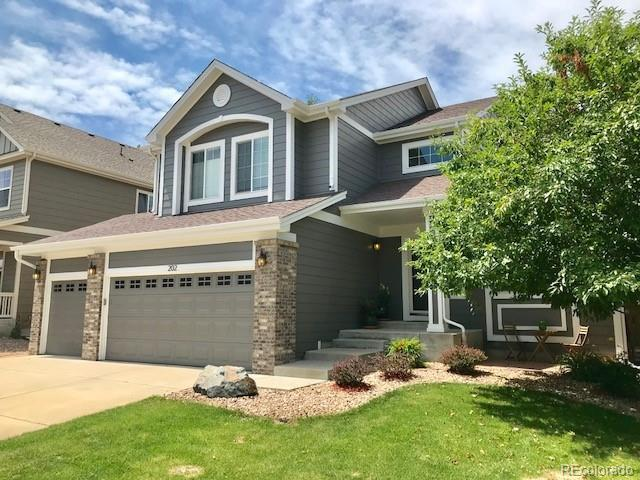202 Garfield Lane, Erie, CO 80516 (#6883218) :: The Pete Cook Home Group