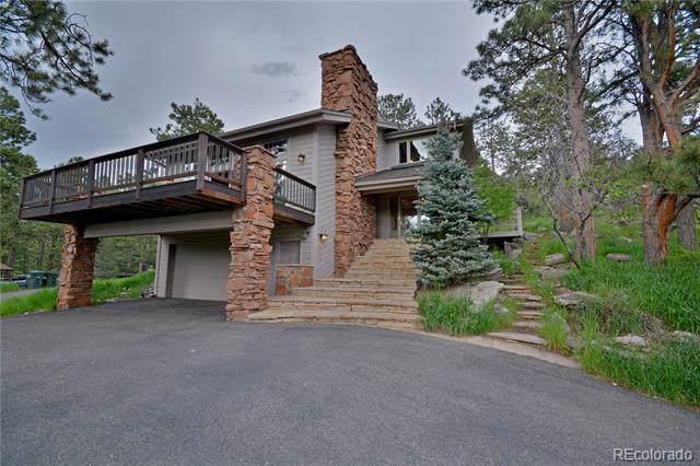 1635 Foothills Drive, Golden, CO 80401 (MLS #7104490) :: Kittle Real Estate