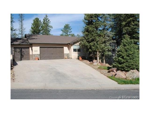 1410 Masters Drive, Woodland Park, CO 80863 (#8205222) :: Ford and Associates