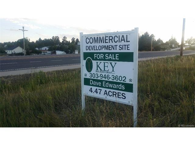 Hwy 86 & Evans Blvd., Elizabeth, CO 80107 (MLS #8415001) :: 8z Real Estate