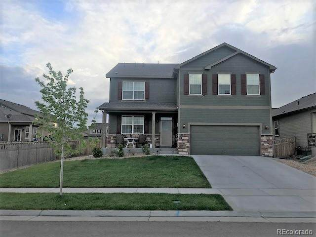 717 Jewel Street, Lochbuie, CO 80603 (MLS #8558655) :: Kittle Real Estate