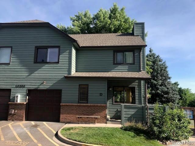 10200 W Jewell Avenue D, Lakewood, CO 80232 (#8705873) :: The DeGrood Team