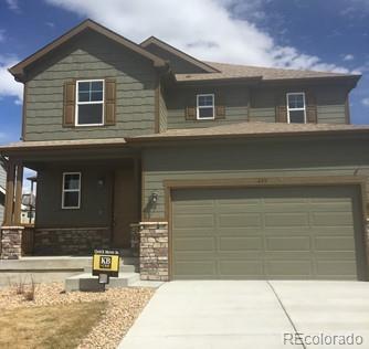 495 Tippen Place, Castle Rock, CO 80104 (#9256850) :: The Peak Properties Group