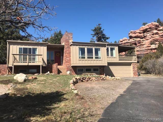 6645 Pike Circle, Larkspur, CO 80118 (MLS #9859199) :: 8z Real Estate