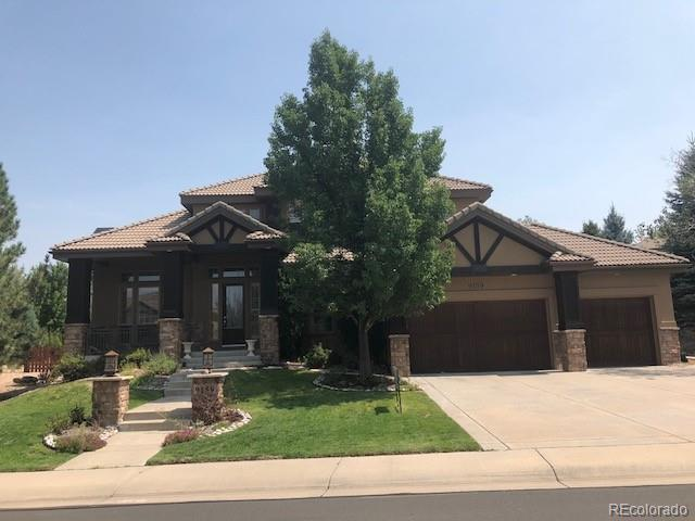 9159 E Lost Hill Drive, Lone Tree, CO 80124 (#2338853) :: The Peak Properties Group