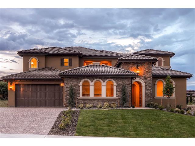 9451 E Winding Hill Avenue, Lone Tree, CO 80124 (MLS #8197168) :: 8z Real Estate