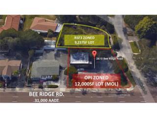 2610 Bee Ridge Road, Sarasota, FL 34239 (MLS #A4162074) :: The Duncan Duo & Associates
