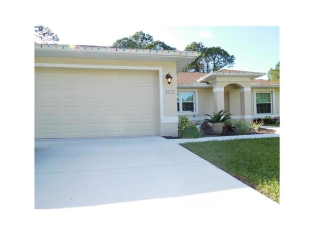1321 S Chamberlain Boulevard, North Port, FL 34286 (MLS #A4189763) :: White Sands Realty Group