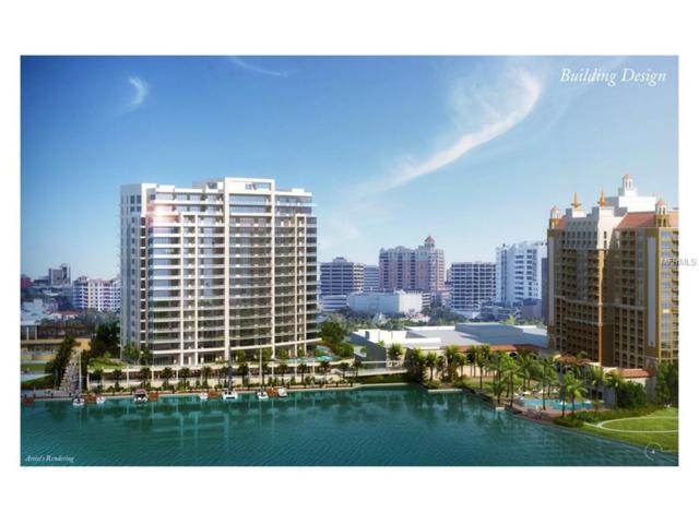 100 Ritz-Carlton Circle 1101 GRANDE, Sarasota, FL 34236 (MLS #A4194366) :: Griffin Group