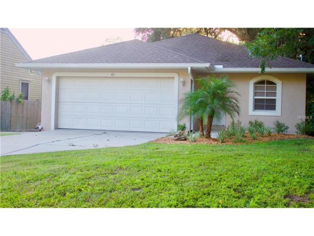 41 Patterson Avenue, Osprey, FL 34229 (MLS #A4195537) :: Medway Realty