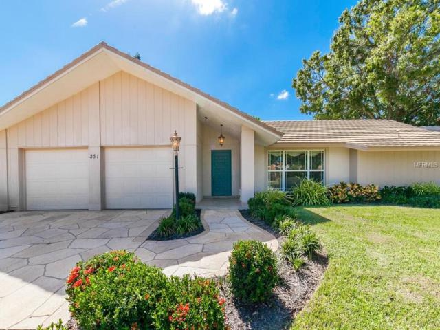 251 Sea Anchor Drive, Osprey, FL 34229 (MLS #A4198903) :: White Sands Realty Group