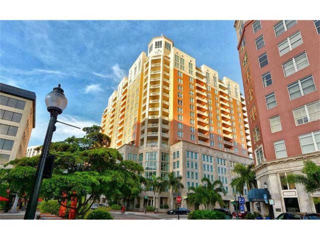 1350 Main Street #1208, Sarasota, FL 34236 (MLS #A4200996) :: McConnell and Associates