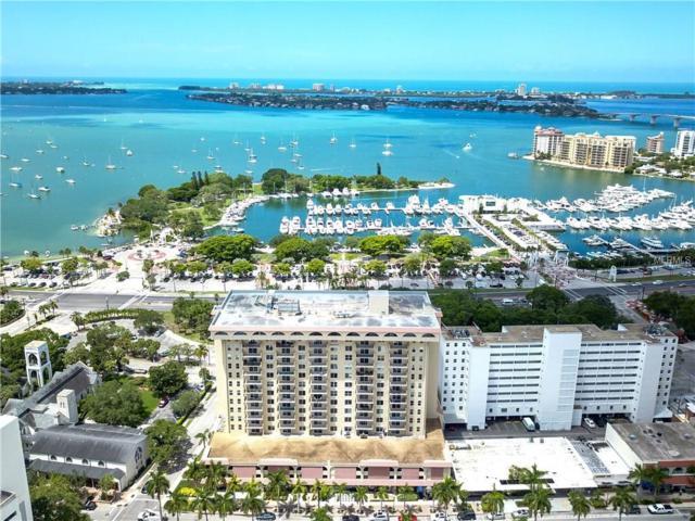 101 S Gulfstream Avenue 15B, Sarasota, FL 34236 (MLS #A4201236) :: Team Bohannon Keller Williams, Tampa Properties