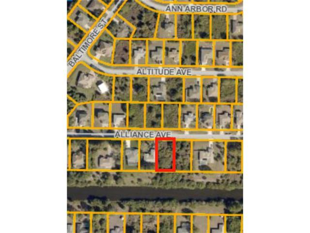 Alliance Avenue, North Port, FL 34286 (MLS #A4201312) :: The Lockhart Team
