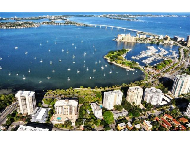707 S Gulfstream Avenue #1002, Sarasota, FL 34236 (MLS #A4202023) :: McConnell and Associates