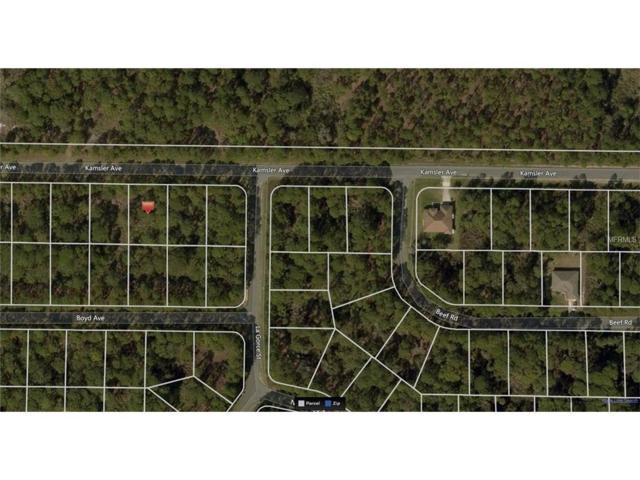 Kamsler Avenue, North Port, FL 34286 (MLS #A4202209) :: Medway Realty