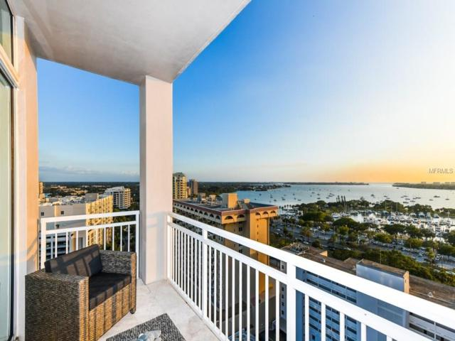 1350 Main Street #1606, Sarasota, FL 34236 (MLS #A4202346) :: The Duncan Duo Team