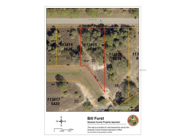 Kacher Road, North Port, FL 34288 (MLS #A4202497) :: Medway Realty