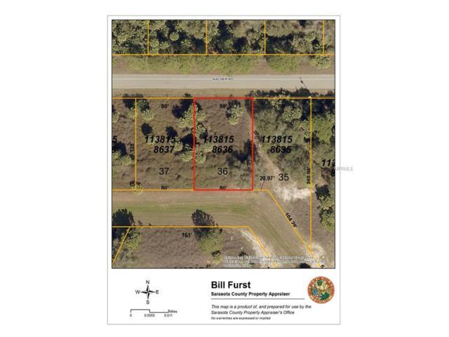 Kacher Road, North Port, FL 34288 (MLS #A4202498) :: Medway Realty