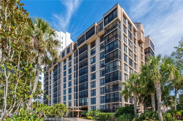 707 S Gulfstream Avenue #107, Sarasota, FL 34236 (MLS #A4208256) :: Team Bohannon Keller Williams, Tampa Properties