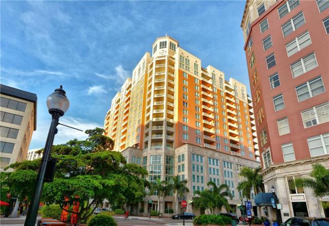 1350 Main Street #1106, Sarasota, FL 34236 (MLS #A4209424) :: Medway Realty
