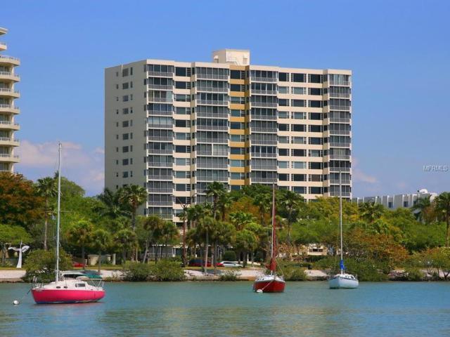 555 S Gulfstream Avenue #203, Sarasota, FL 34236 (MLS #A4210367) :: The Duncan Duo Team