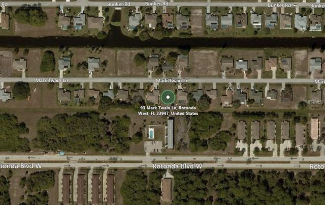 93 Mark Twain Lane, Rotonda West, FL 33947 (MLS #A4211136) :: The BRC Group, LLC