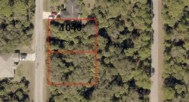 Lot 4 & 5 Caladium Road, North Port, FL 34288 (MLS #A4211684) :: Griffin Group