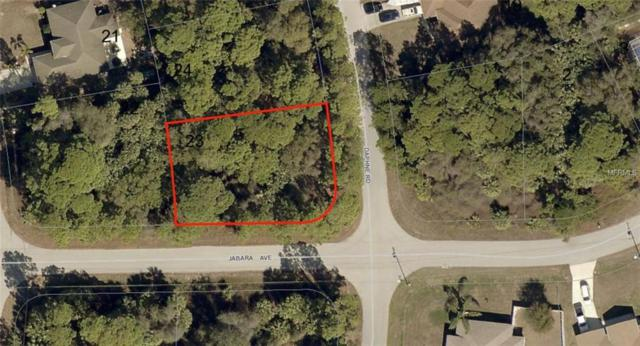 Lot 23 Daphne Road, North Port, FL 34288 (MLS #A4211694) :: KELLER WILLIAMS CLASSIC VI